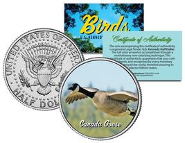 CANADA GOOSE ** Collectible Birds ** JFK Kennedy Half Dollar Colorized U... - $8.86