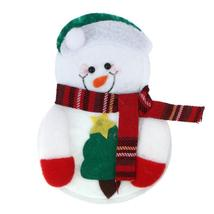 (as picture)1pcs Christmas Snowman Cutlery Bags Santa Claus Kitchen Dini... - $14.00