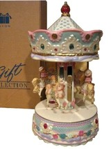 VINTAGE NEW IN BOX  AVON 2002 BEARY GO-ROUND CAROUSEL GIFT ITEM FREE SHI... - $38.95