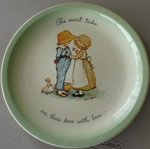 Holly Hobbie Collector's Edition Collect Plate- 1972 Plate - American Greetings - $29.69