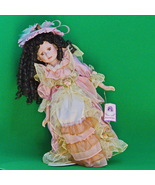 """Beautiful 20"""" Goldenvale Collection Limited Edition Porcelain Doll With ... - $16.95"""