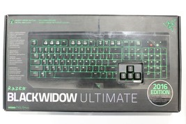 Razer BlackWidow Ultimate 2016 Edition Mechanical Gaming Keyboard Green LED - $54.99