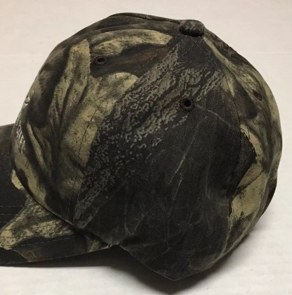 Columbia Steel Hat Portland Oregon Baseball Cap Camo Hunting OR Iron Hunter Hunt