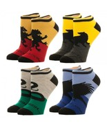 Harry Potter Hogwarts House Logo Ankle Socks 4 Pack - OSFM - $16.95