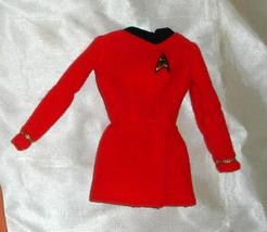 Barbie doll clothes Star trek Uniform dress top shirt red - $7.99