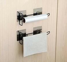 Multi Functional Kitchen Rack Holder for-Towel ,Tissue, Wine Glass - $18.80