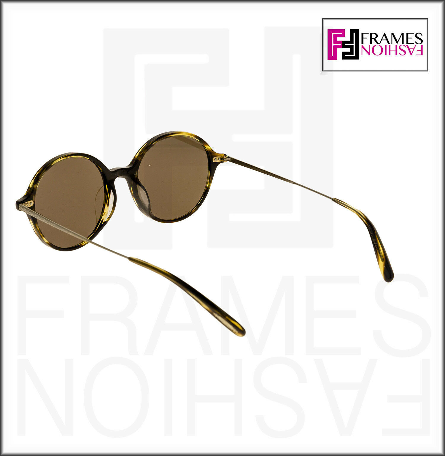 OLIVER PEOPLES CORBY OV5347SU Cocobolo Brown Gold Round Sunglasses 5347 Unisex image 3