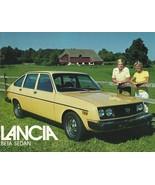 1979 Lancia BETA SEDAN sales brochure sheet US 79 Fiat  - $6.00