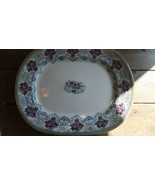 "Antique Victorian Serving Large Tray Platter 17.5"" x 14"" - $148.50"