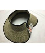 San Diego Hat Company Women's Ultrabraid Visor With Ribbon Binding, and ... - $27.81
