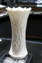 "Vintage Off White Lenox Porcelain Vase 8 1/4"" Made in USA - $24.74"