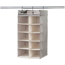 neatfreak 07752 PAT072-004 Harmony Twill Collection Hanging 2 x 5 Cubby ... - €39,16 EUR