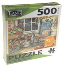 Lang 500 Piece Jigsaw Puzzle Rocking Chair 24x18 Artwork Susan Winget Ar... - $9.79