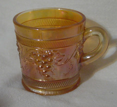 "Fenton Carnival Glass Marigold Mug ""Vintage Banded"" AS IS - $4.99"