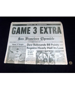 San Francisco Chronicle October 17 1989 World Earthquake Series Game 3 N... - $39.58