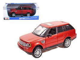 Range Rover Sport Metallic Red 1/18 Diecast Model Car by Maisto - $65.99
