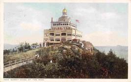 Summit House Mt Tom Massachusetts 1913 Phostint postcard - $6.93