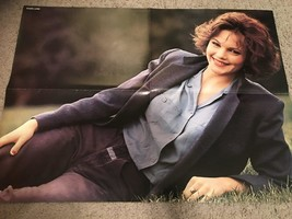 Diane Lane Harrison Ford teen magazine poster clipping laying in the grass