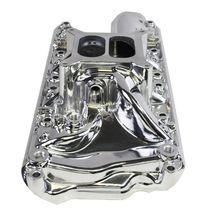 Polished Aluminum Small Block Ford Intake Manifold 60's-70's SBF 260 289 302 5.0 image 4