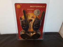 NEW Motorola Talkabout T5720 FRS/GMRS Two Way Radios In Package Never Used - $67.85