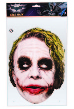 Forum Neuheiten der Joker Dunkler Ritter Halloween Kostüm-zubehör Maske 36671 - $11.53