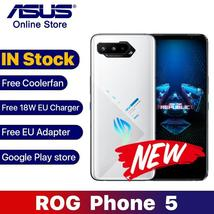 Global Rom ASUS ROG 5 5G 12GB 128GB Smartphone Snapdragon 888 6.78 Inch AMOLED S - $1,223.16 - $1,859.24