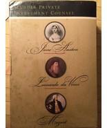Set of 3 Box Lot Mozart Da Vinci Jane Austen Scudder Private Investment ... - $14.54
