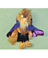 "12"" Disney Beauty and the BEAST Plush Beast Purple Cape Furry Stuffed An... - $19.80"