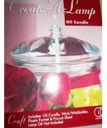 Indiana Glass Create-A-Lamp Oil Candle - $19.99