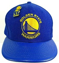 Golden State Warriors New Era 59FIFTY Blue Basketball Cap Size 7.5 with ... - $29.65