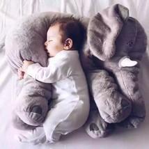 Elephant Large Pillow Plush Baby Doll Toy Kids Cartoon Cushion Lumbar Sleep Nose