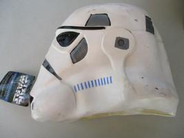 Star Wars Storm Trooper Halloween Mask Deluxe Latex Cosplay Vintage Sci ... - $32.66