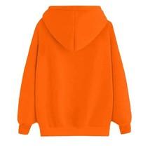 Halloween Hoodie Sweatshirt Pullover Women Sweater (L) Ship From USA image 3