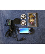 SONY Handheld PSP-1001 Video Game System 2 Games 32 MB Memory Card Batte... - $130.00