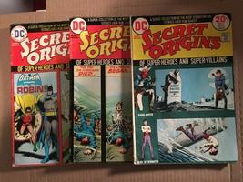 Secret Origins #4 5 7 VG Condition DC Comic Book Lot Of 3 Batman / Spectre - $4.49