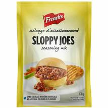 6 Sloppy Joe Seasoning Mix French's Sauce 43g Each -From Canada FRESH De... - $19.83