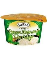Grace Green Banana Instant Porridge (Jamaican Breakfast Cereal) Pack of 3 - $22.00