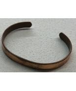 Vtg Copper Cuff Bracelet Signed SABONA LONDON MADE IN ENGLAND Reg. No. 8... - $9.49