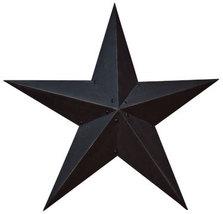 "Black Metal Barn Star 24"""