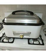 Vintage 1950s WESTINGHOUSE ROASTER Electric Turkey Oven RO5411 - $139.20