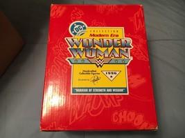 """Hallmark Modern Era Wonder Woman Figurine DC – """"Warrior Of Strength And ... - $55.00"""