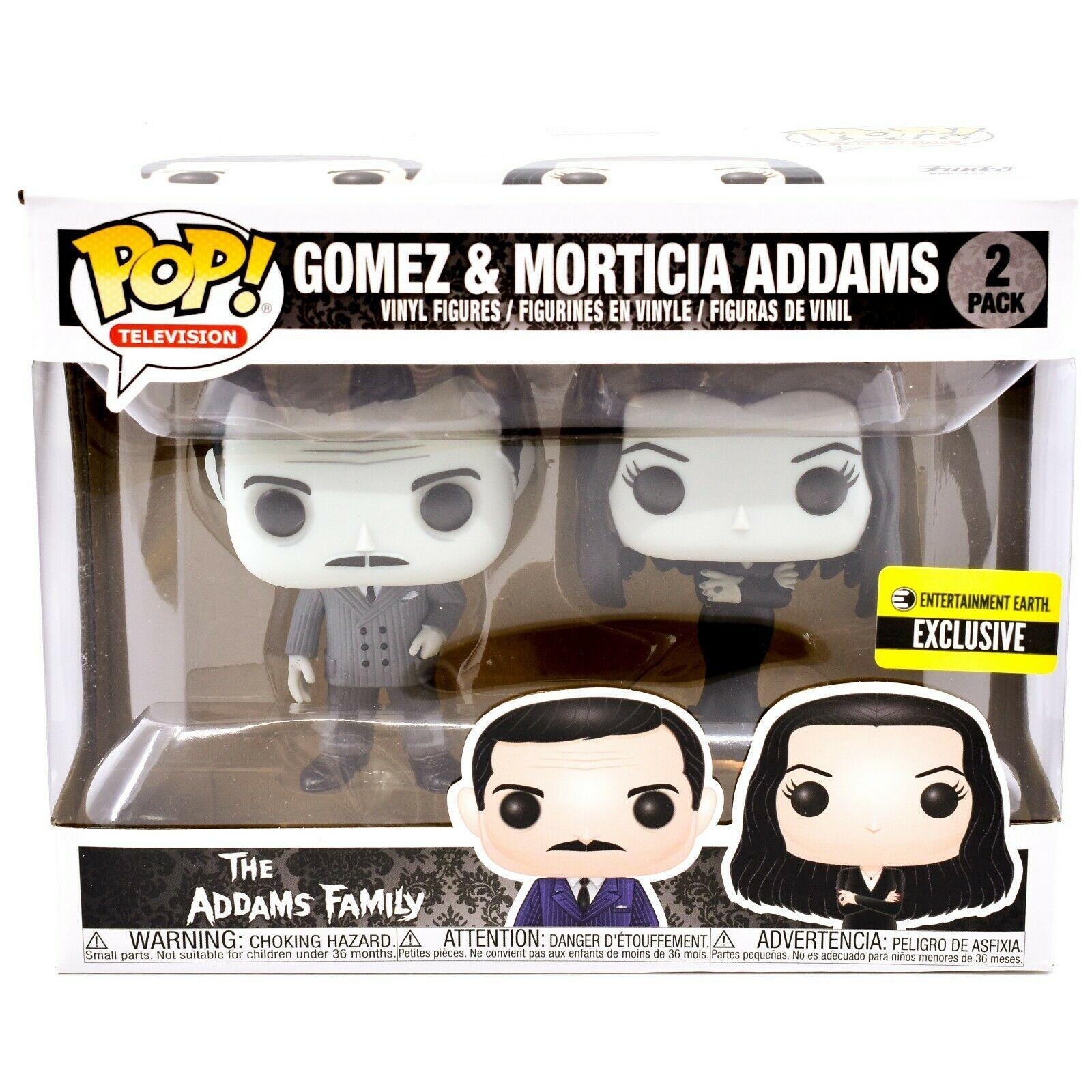Funko Pop Television Gomez Morticia Addams Family Entertainment Earth Exclusive