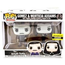 Funko Pop Television Gomez Morticia Addams Family Entertainment Earth Exclusive image 1