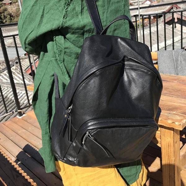 Sale, Full Grain Leather Women Backpack, Ladies Travel Backpack, Laptop Backpack image 5
