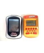 2 GAMES, YAHTZEE & ULTIMATE SODOKU GRAND CHAMPION HAND HELD ELECTRONIC G... - $17.95