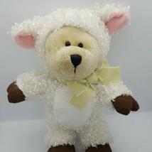 2009 Starbucks Bearista Bear Plush White Lamb 83rd Edition  - $9.49