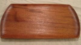 Vintage Taverneau Hand Carved Wood Tray Haiti Sydney Farber Serving Plat... - $39.59
