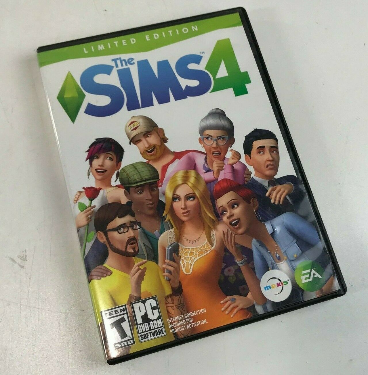 The Sims 4, 2 Discs DVD-ROM Video Game PC, Maxis and EA Games