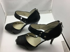 Michael Kors Women's High Heels Leather Shoes Size 8 1/2 - $99.00