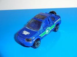 Matchbox 2000 1 Loose Vehicle Land Rover Freelander Blue w/ 2000 Logo - $3.00